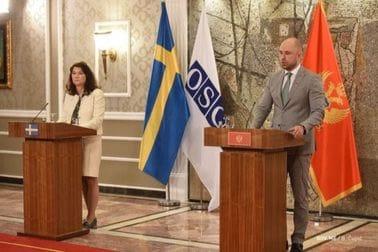 Crna Gora i Kraljevina Švedska posvećene evropskoj integraciji i bezbjednosti