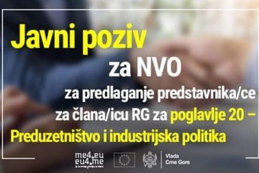 Javni poziv za NVO