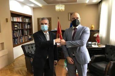 Ministar Radulović i ambasador Barbosa