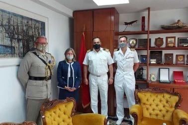 Командант МВЦГ на састанку с делегацијом УК