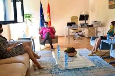 GP Zorka Kordić - Ambasadorka Estonije u Crnoj Gori Kristi Karelsohn
