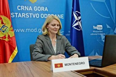 Ињац потписала Меморандум: Црна Гора међу НАТО земљама које пружају обуку пилота