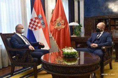 Radulović and Grlić Radman: Montenegro and Croatia are close neighbors and friends