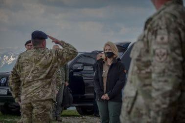 Ministarka odbrane i NGŠ u posjeti Kolašinu i Andrijevici