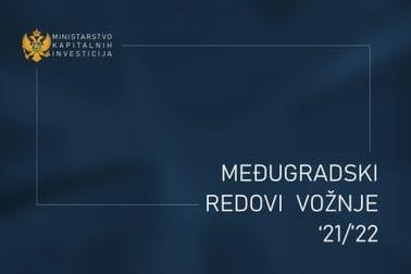 Međugradski redovi vožnje 2021-2022