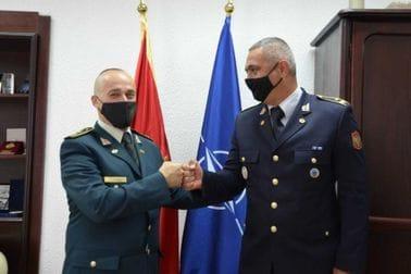 Major Pavlović završio školovanje na Vazduhoplovnom komandno-štabnom koledžu u SAD