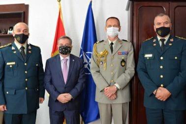 Начелник Генералштаба састао се са амбасадором и изаслаником одбране Републике Француске