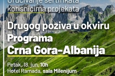 Program prekogranične saradnje Crna Gora-Albanija 2014-2020