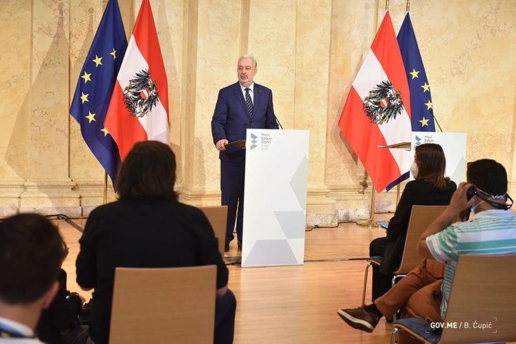 Premijer Krivokapić na Samitu lidera Zapadnog Balkana u Beču: Naš pogled uperen ka EU