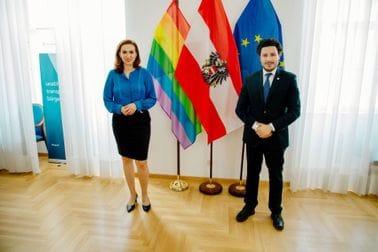 Dritan Abazović - Alma Zadić