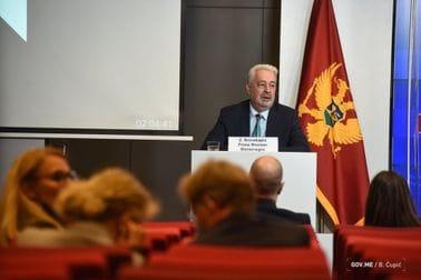 Здравко Кривокапић - Међувладина конференција са ЕУ - пресс конференција
