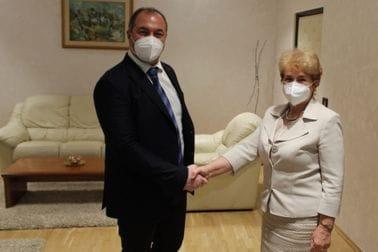 Амбасадорка Бугарске у посјети Министарству пољопривреде, шумарства и водопривреде