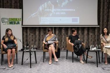 konferencija Sindikat medija- ministarka Tamara Srzentić