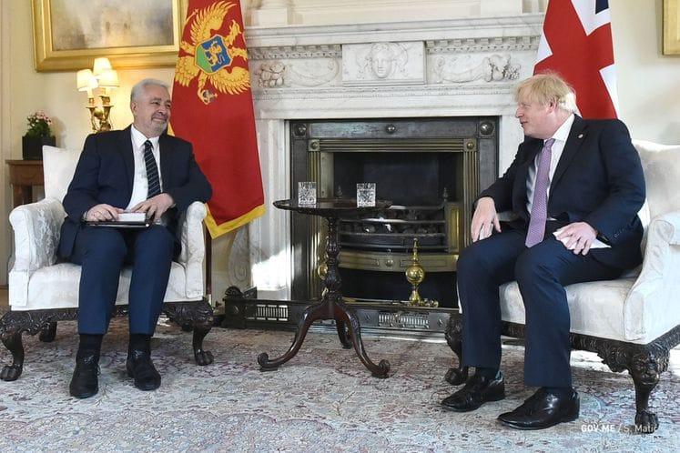 Krivokapić - Džonson: Istorijski susret premijera Crne Gore i Ujedinjenog Kraljevstva