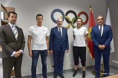 PM Krivokapić wishes Montenegrin athletes luck ahead of Tokyo Olympics