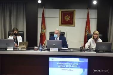 Prva sjednica Savjeta za reformu javne uprave