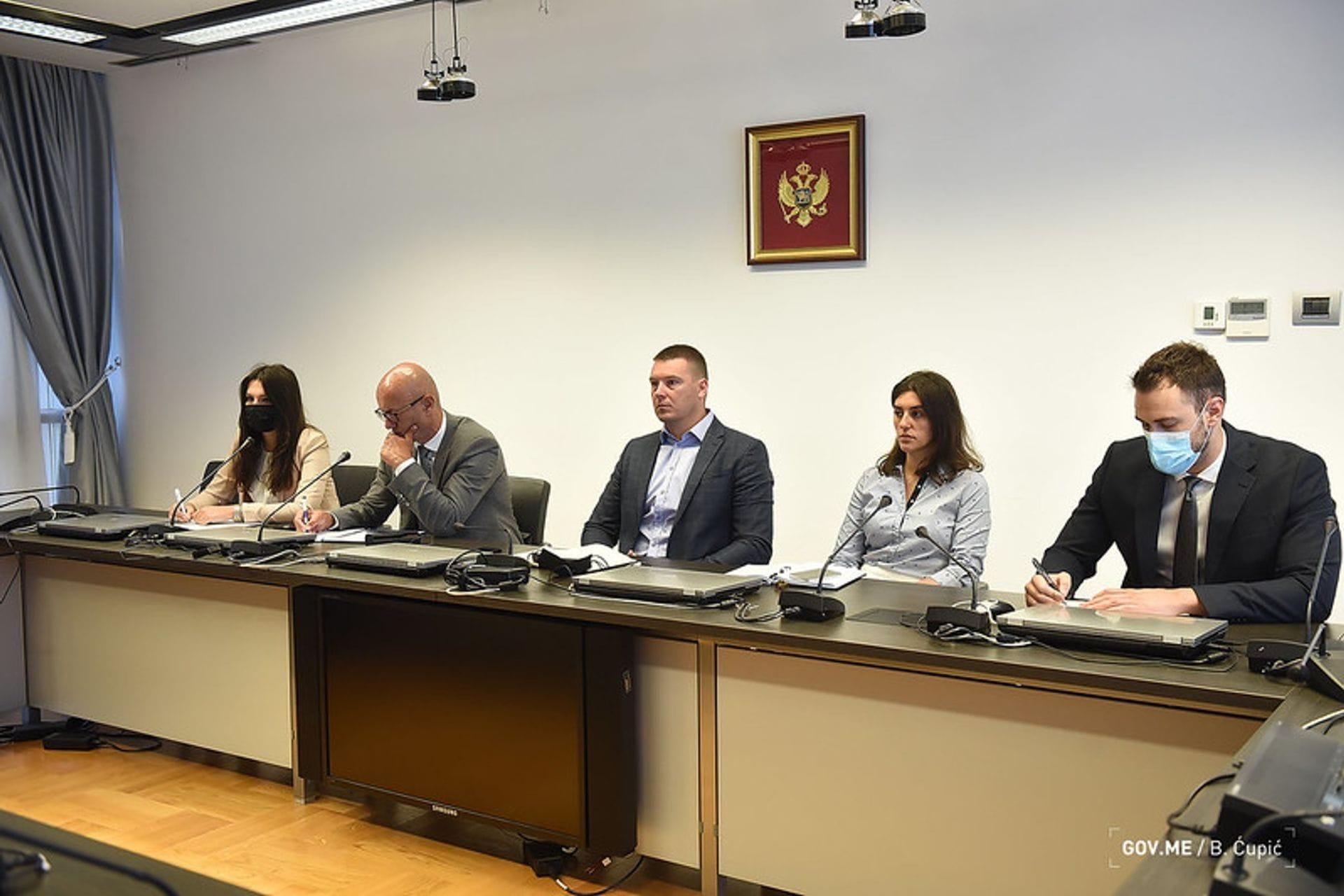 Adžić i Laković sa predstavnicima Tursko-crnogorskog poslovnog savjeta