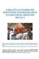 Zaključci o najboljim dostupnim tehnikama (BAT) za industriju obojenih metala