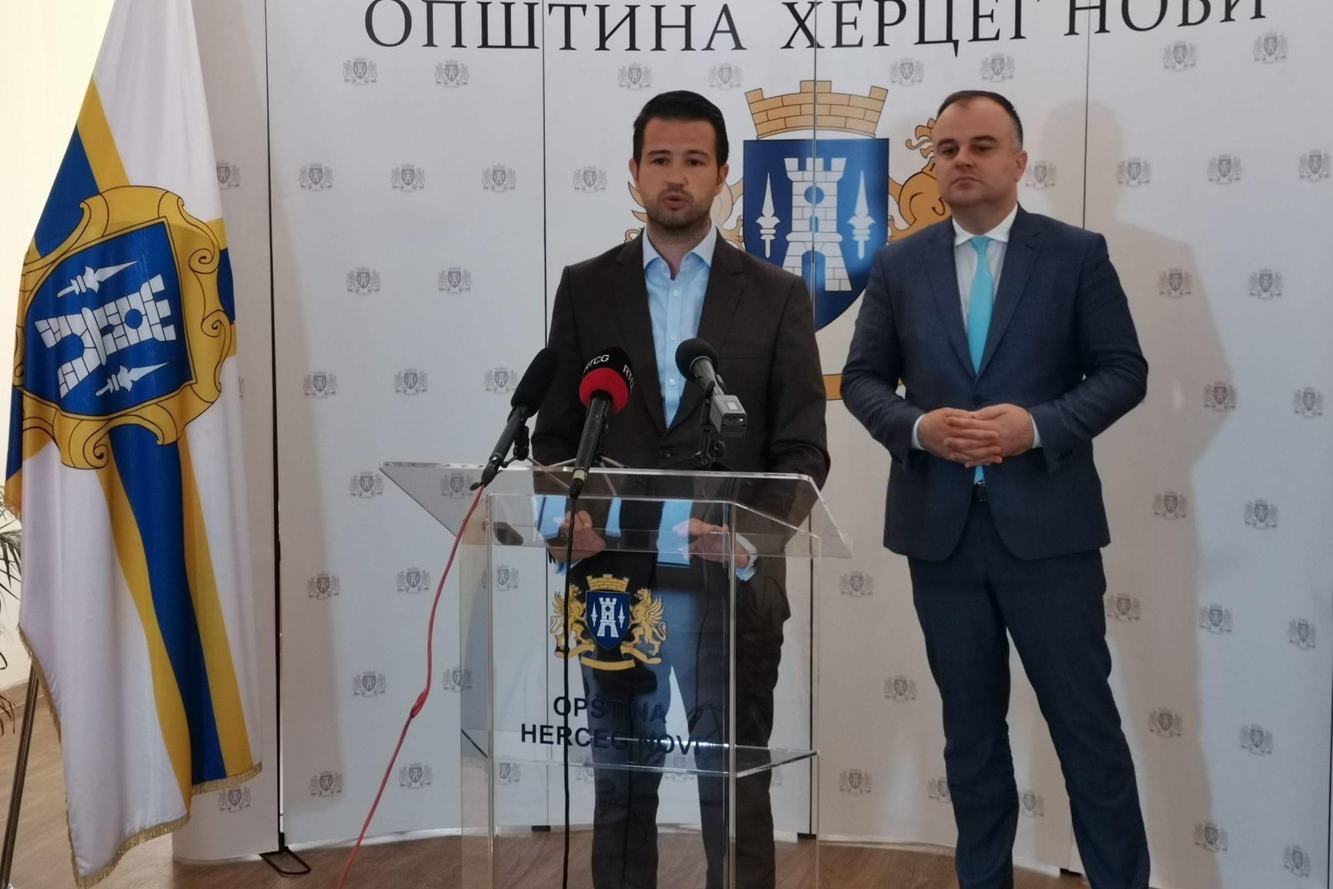Jakov Milatović izjave nakon sastanka