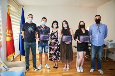 Pobjednicima konkursa #PjevajZaEvropu, uručene nagrade