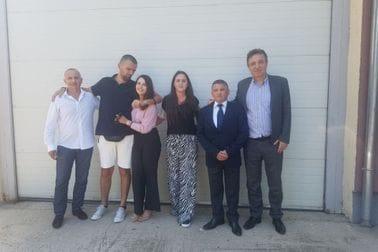 Risto Jovanović sa predstavnicima MVP i Ambasade CG na Kosovu