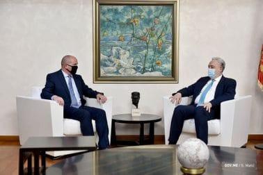 Premijer Krivokapić i ministarka Srzentić ugostili Mikija Dikersona