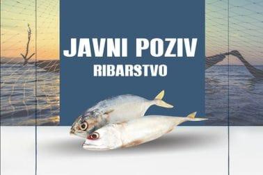 Javni poziv- ribarstvo