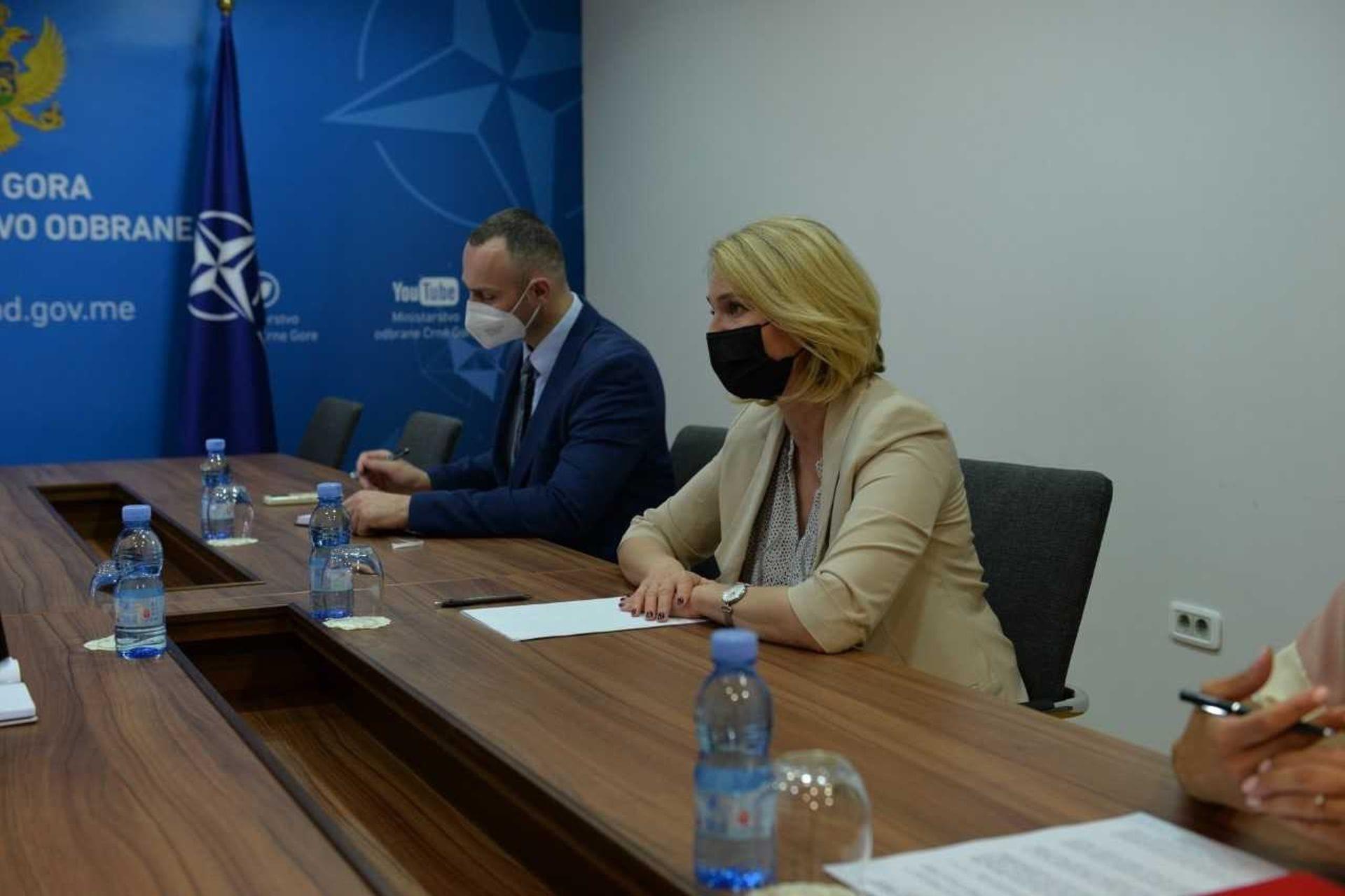 Injac sa Urbanom: Češka snažno podržava evropske integracije Crne Gore