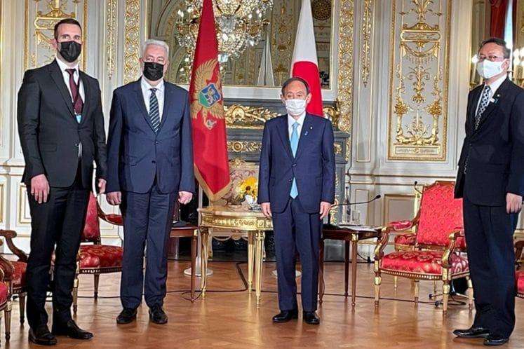 Krivokapić, Suga: Japan supports Montenegro's economic and social reforms