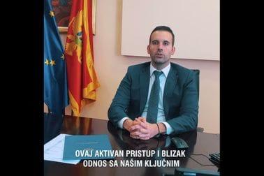 Ministar finansija i socijalnog staranja u delegaciji predsjednika crnogorske Vlade prilik