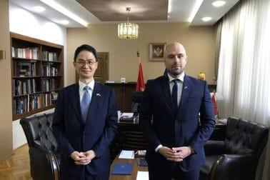 Ministar Radulović i ambasador Republike Koreje