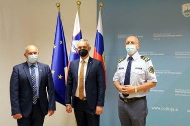Brđanin u radnoj posjeti slovenačkoj policiji