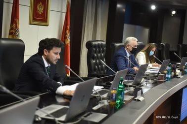 34. sjednica Vlade Crne Gore