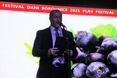 """Ministar Stijović otvorio manifestaciju """"Dani borovnice"""" u Plavu"""