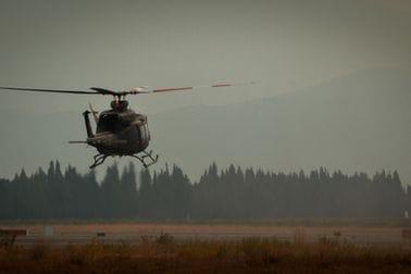 Helikopter VCG upućen u Republiku S.Makedoniju kako bi pomogao u gašenju požara