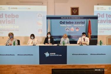 Konferencija za medije povodom predstavljanja novih epidemioloških mjera