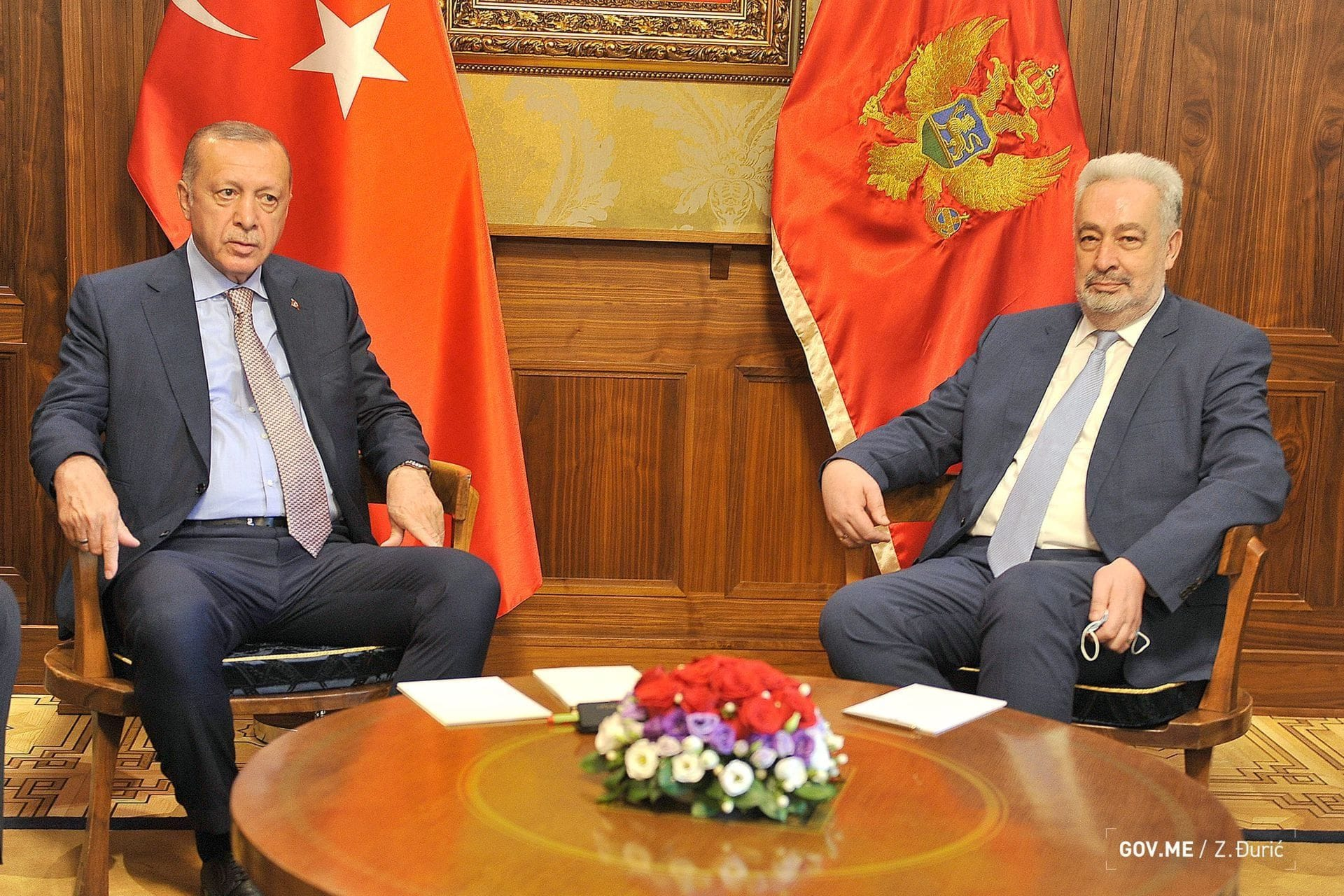 Zdravko Krivokapić - Redžep Tajip Erdogan