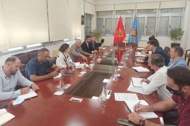 Ministar Mitrović u posjeti Opštini Tivat