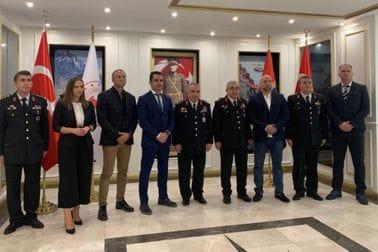 Rakonjac boravi u službenoj posjeti Žandarmeriji Republike Turske