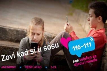 SOS telefon za djecu i mlade