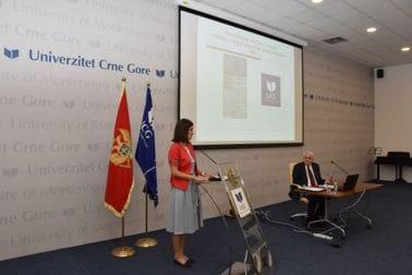 Milena Lipovina-Božović na Panelu UCG