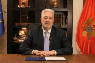Zdravko Krivokapić - obraćanje građanima crne Gore