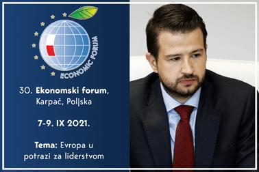 Jakov Milatović, Ekonomski forum Poljska