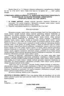 Predlog za prestanak vršenja dužnosti v. d. generalne direktorice Direktorata za nacionalne i EU naučne programe u Ministarstvu prosvjete, nauke, kulture i sporta