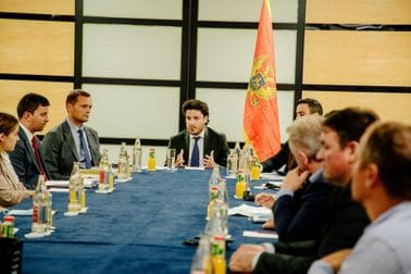 Dritan Abazović - sastanak sa crnogorskom dijasporom u Luksemburgu