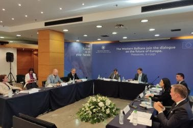 """""""Pridruživanje država Zapadnog Balkana Konferenciji o budućnosti Evrope"""" u Solunu"""