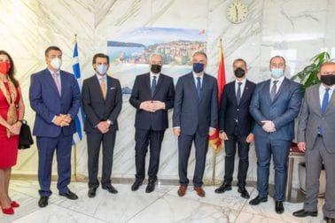 Zdravko Krivokapić - otvaranje konzulata Crne Gore u Solunu