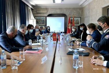 Министар Секуловић угостио делегацију Полиције Чешке Републике