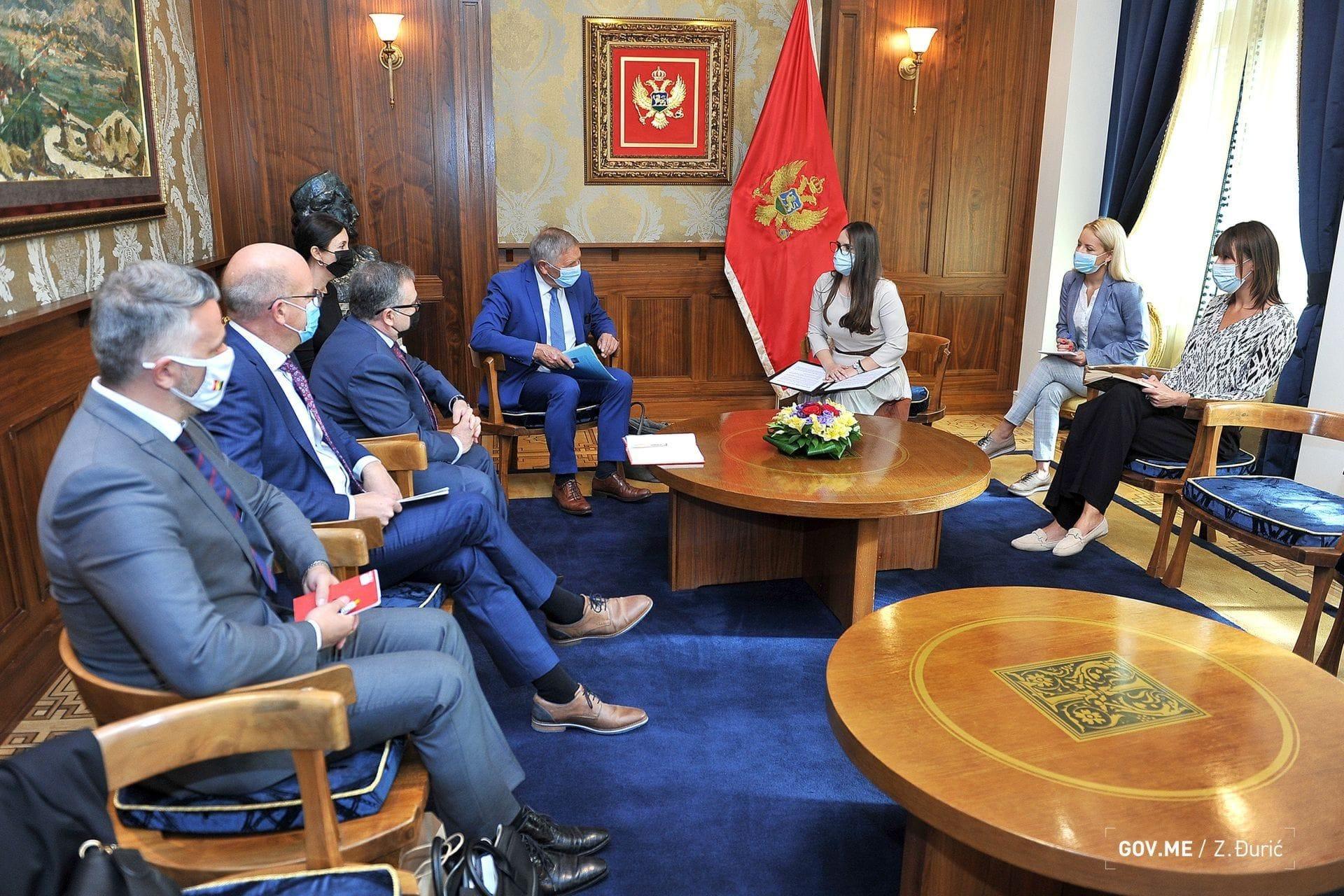 Sastanak delegacije Parlamentarne skupštine Frankofonije sa Sekretarkom MPNKS