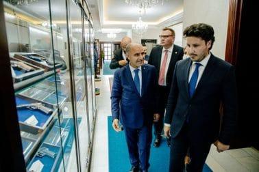 Директор турске полиције Абазовићу:Спремни и вољни смо помоћи вашу борбу против криминала